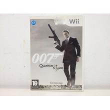 007 QUANTUM OF SOLACE WII DE SEGUNDA MANO
