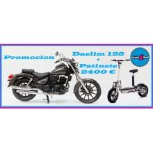 MOTO DAELIM 125 CC KM0