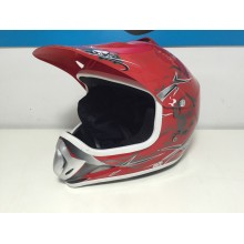 CASCO CROSS ROJO TALLA M