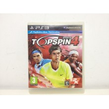 2K SPORTS TOPSPIN 4 PS3 DE SEGUNDA MANO