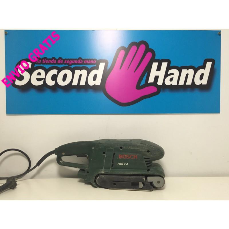 Lijadora de banda bosch pbs 7 a de segunda mano en second for Caseta de herramientas segunda mano