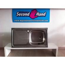 FREGADERO CUADRADO TEKA 1 SENO DE SEGUNDA MANO