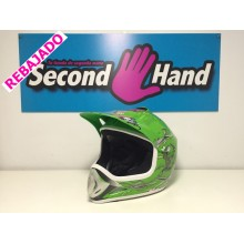 CASCO CROSS VERDE TALLA M